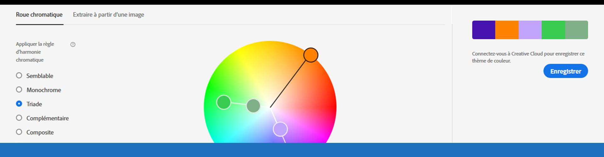 Outils de création de palette de couleurs